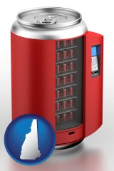 new-hampshire a stylized vending machine
