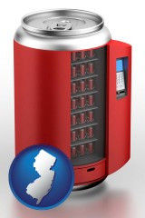 new-jersey a stylized vending machine